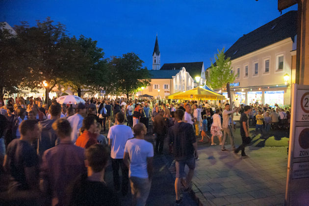 Impressionen vom Bürgerfest in Bad Aibling